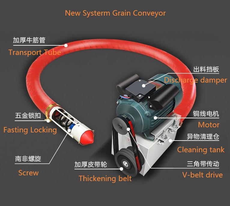 New Systerm Grain Conveyor